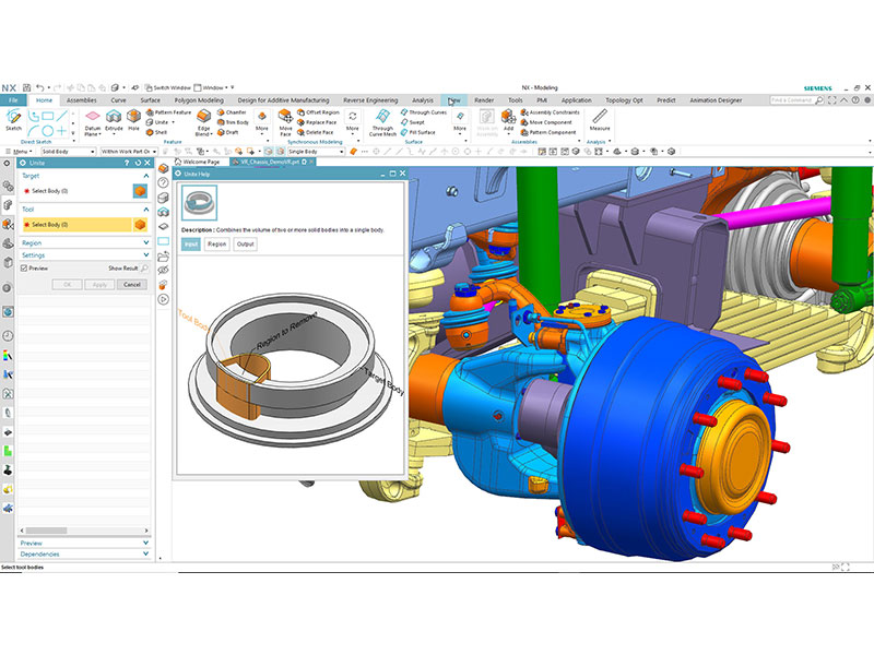Siemens updates NX Software with Artificial Intelligence and Machine Learning to increase productivity