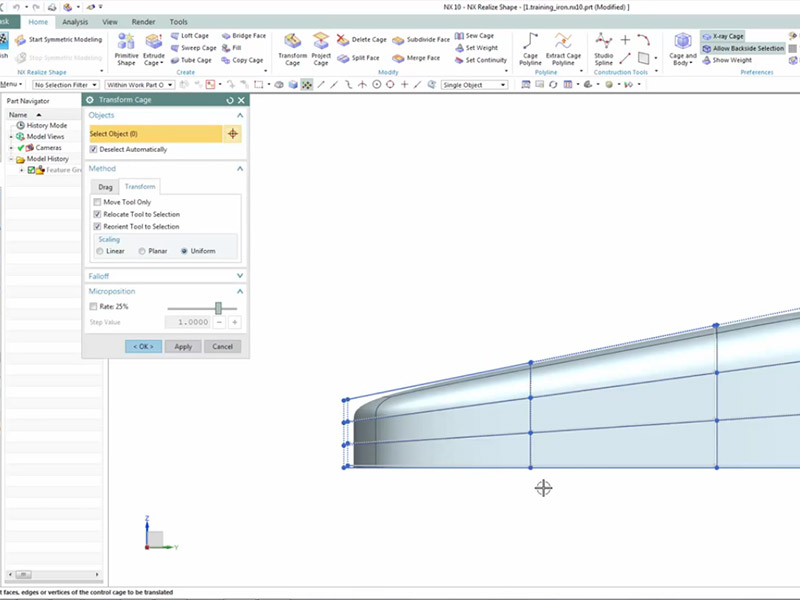 NX CAD Quick Tips: Modeling with NX Realize Shape