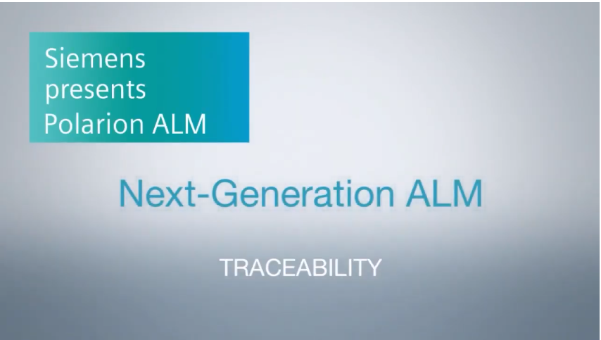Polarion ALM - Traceability and Compliance